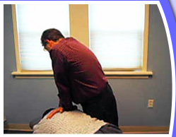 Chiropractic Treatment Room 1